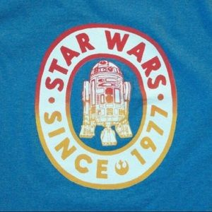 Star Wars R2D2 Since 1977 Rebel Blue Unisex Tee